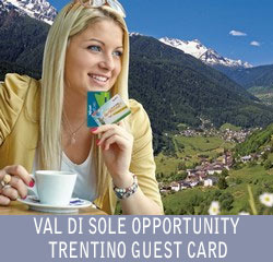 Val di Sole Opportunity Guest Card Trentino